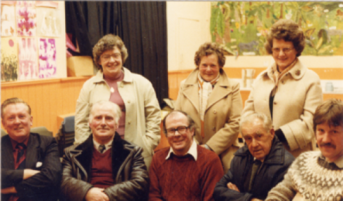 Pictured below are some of the first committee who had the foresight to establish the Comunn Eachdraidh in 1983.
